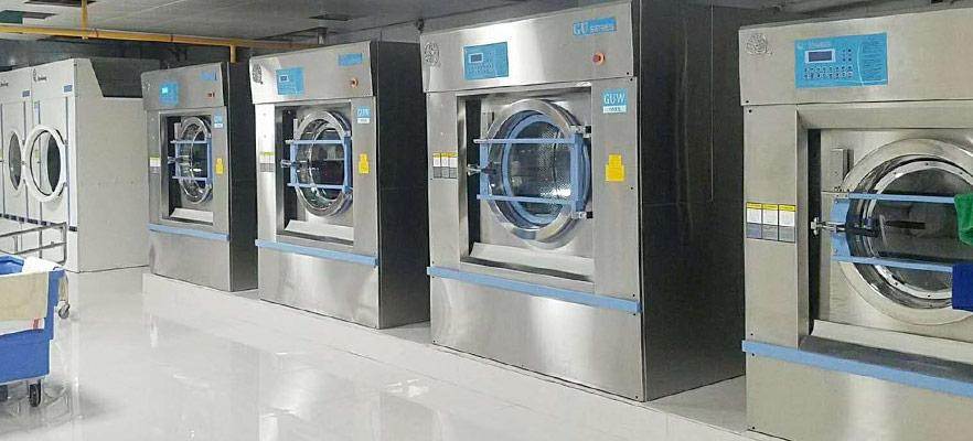工业洗衣机进水系统中的故障